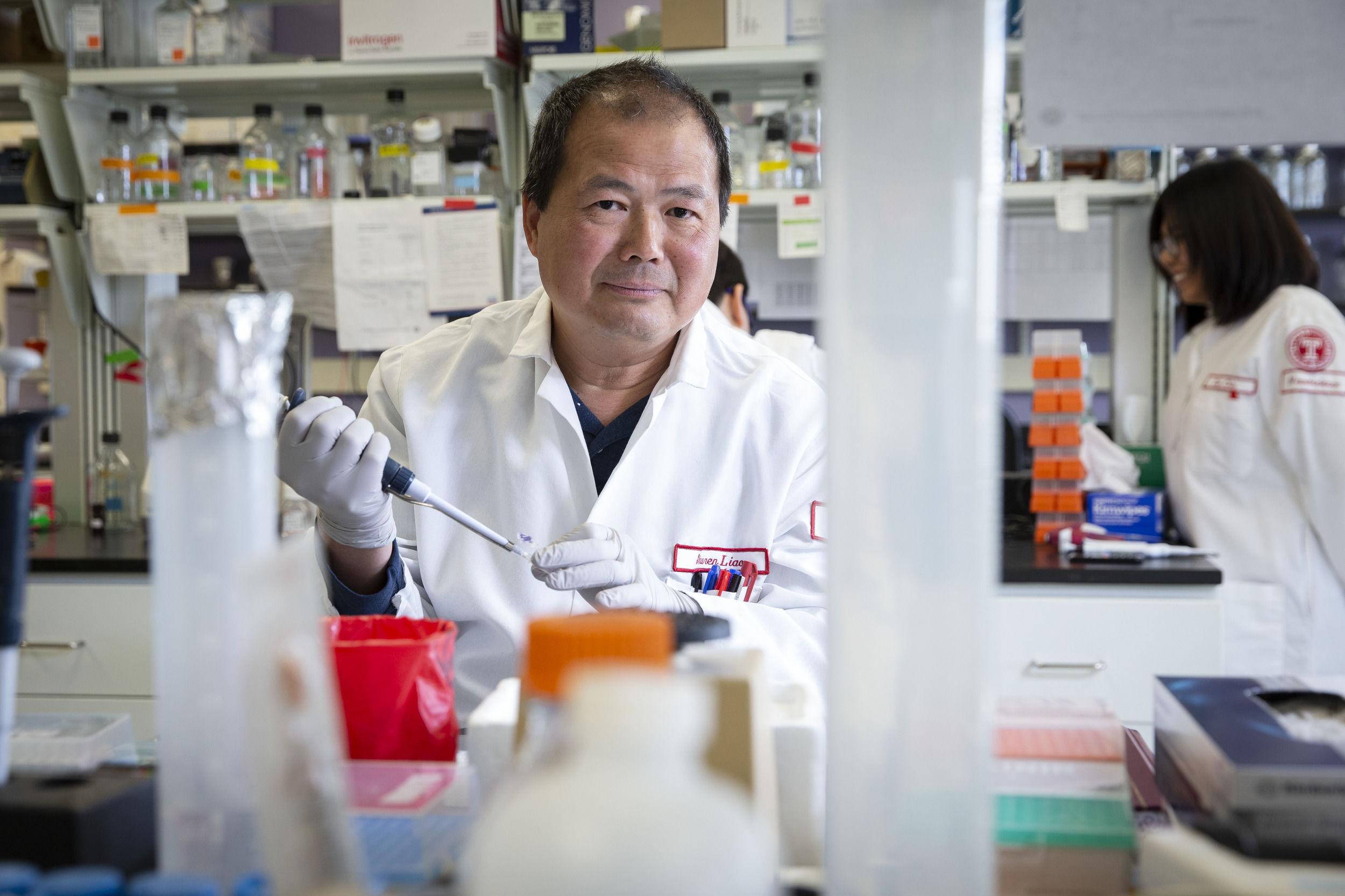 Researcher Shuren Liao
