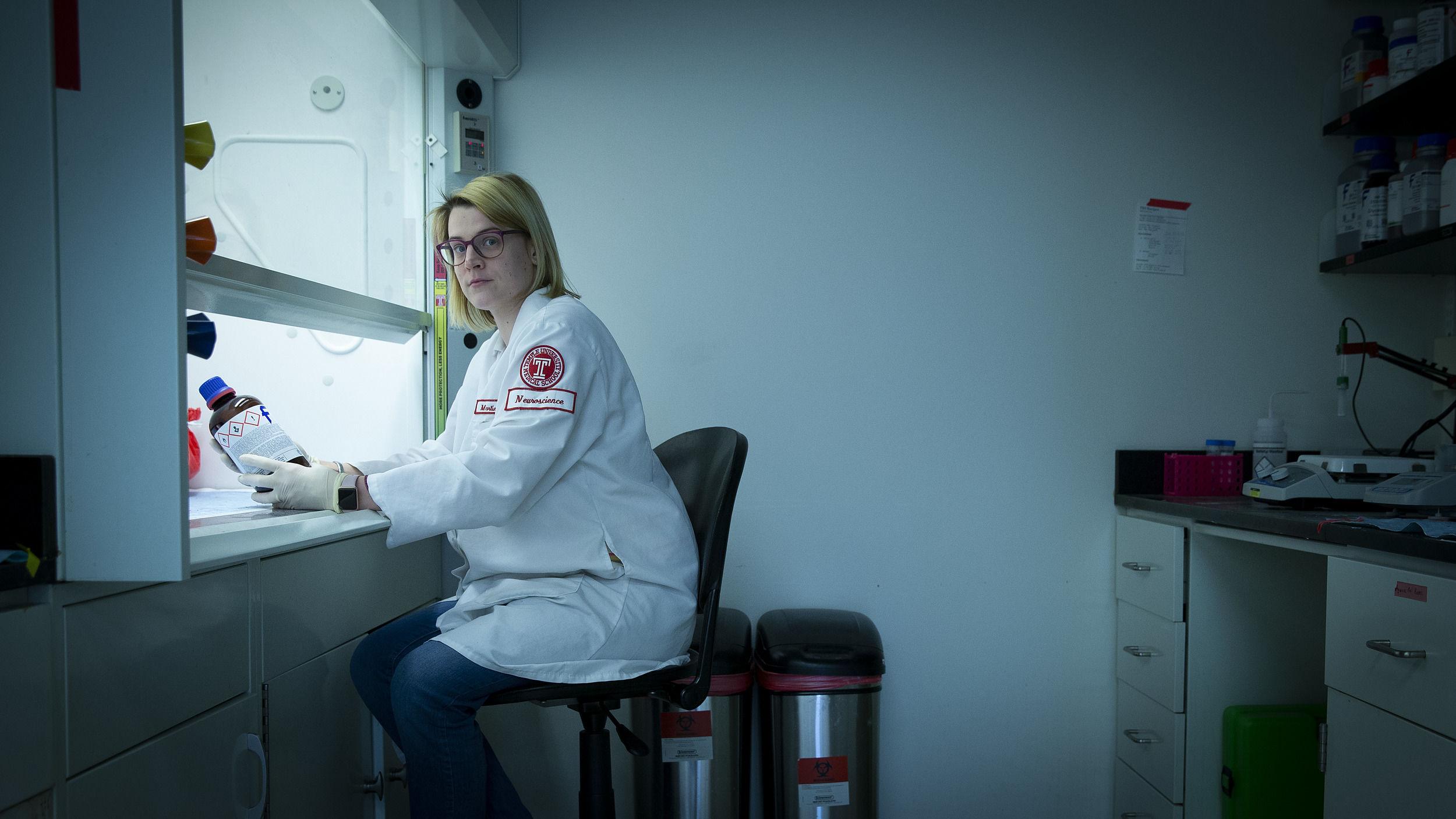 Researcher Martina Donadoni