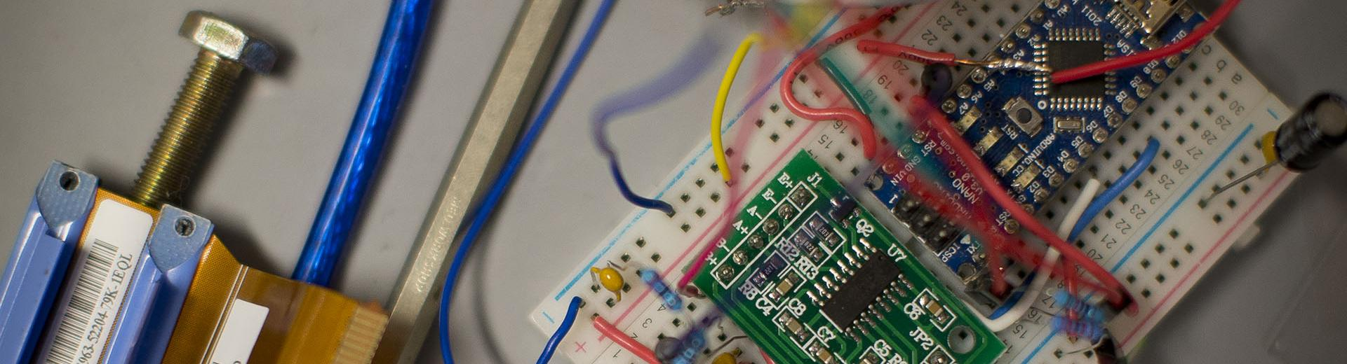 Engineering circuit board and network wiring