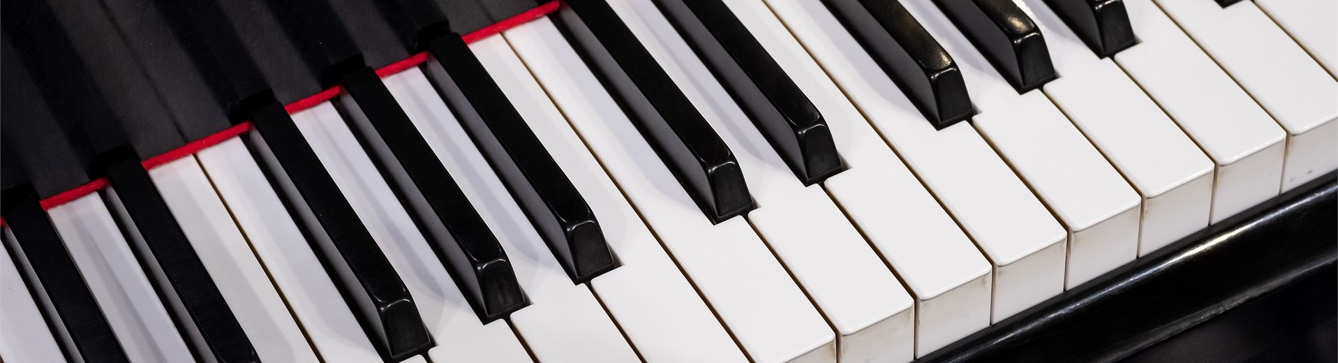 The black-and-white keys of a Steinway piano.
