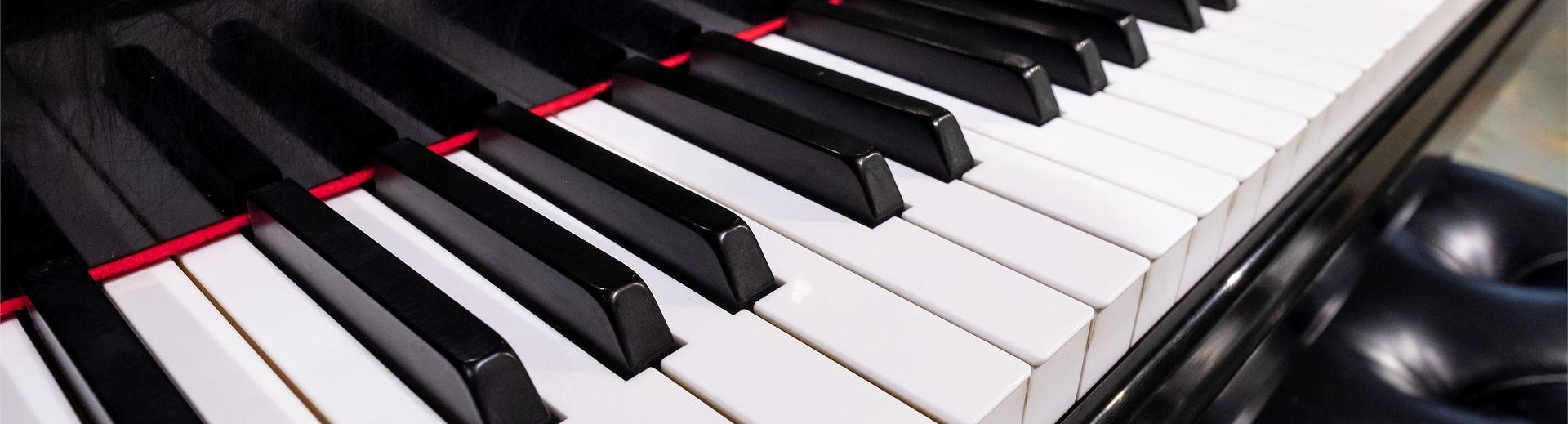 Keys on a piano.