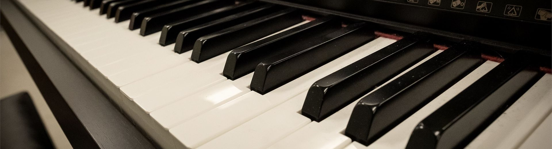 Keys on a piano.