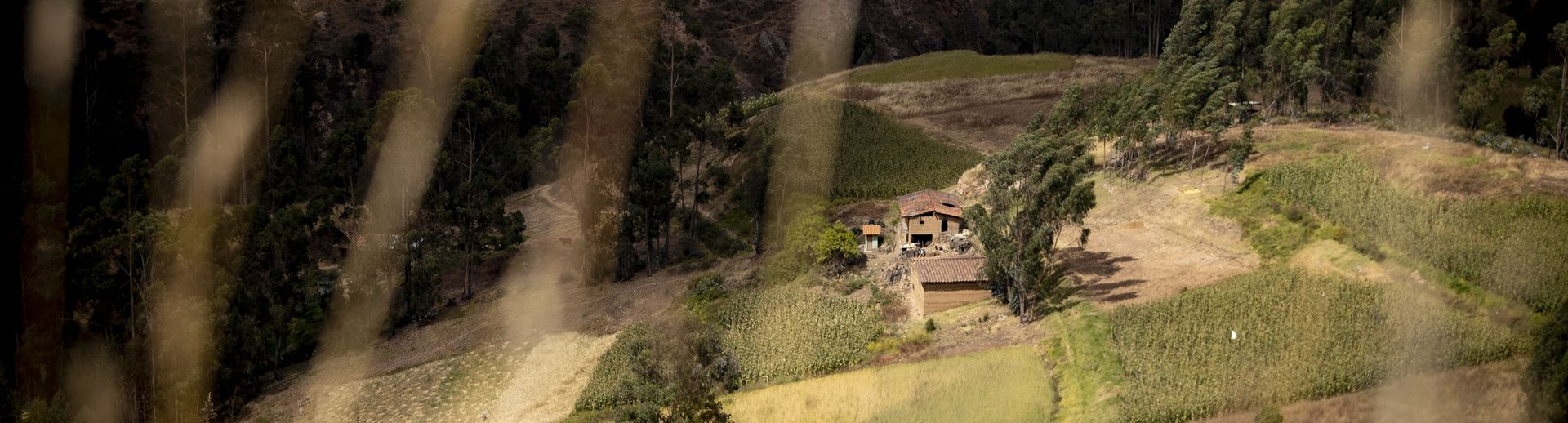 A house in the countryside of Peru.
