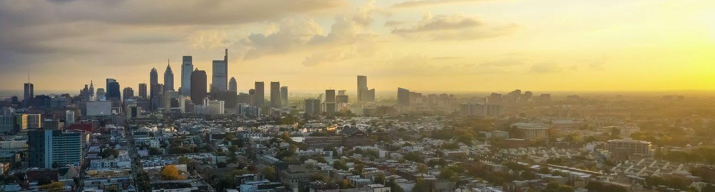 An image of the Philadelphia skyline.
