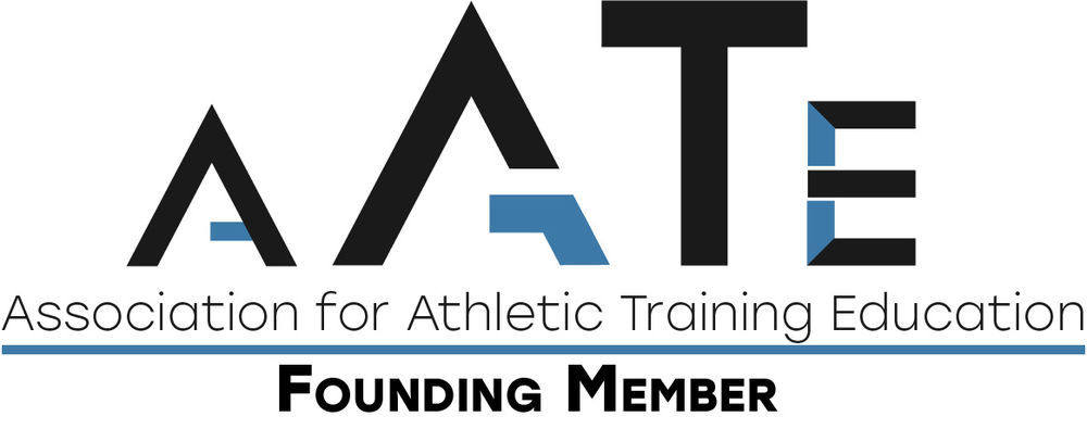 A logo for the Association for Athletic Training Education.