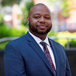headshot of Teron Richardson, manager of Temple University's Office of Ethics and Compliance