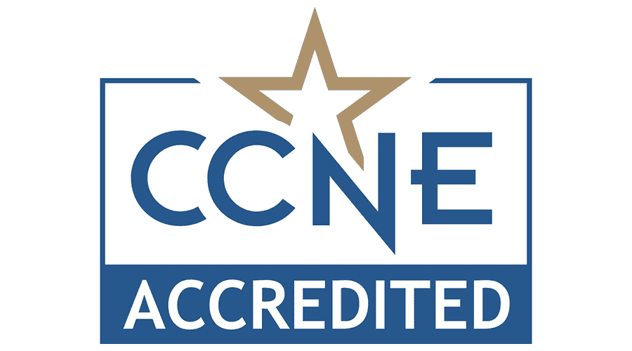 The logo for the Commission on Collegiate Nursing Education.